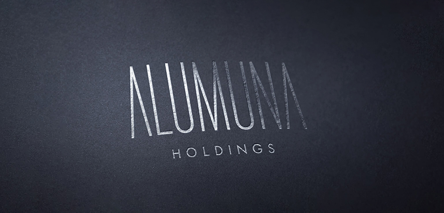 Brand and Logo Design for Alumuna Holdings