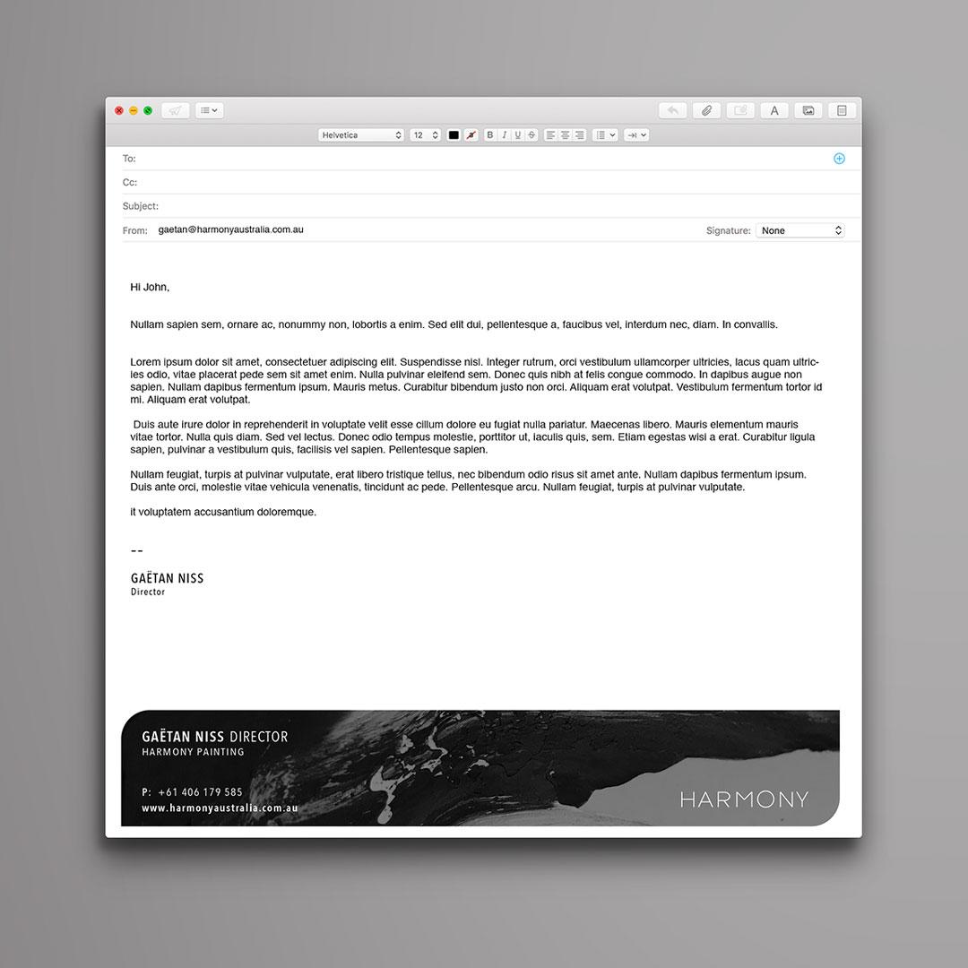 BA - HARMONY - Email Signature