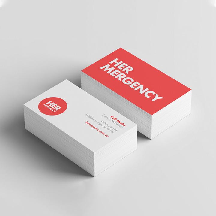 Boss Agency Business Card Design