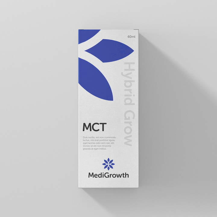 Medigrowth Packaging Design