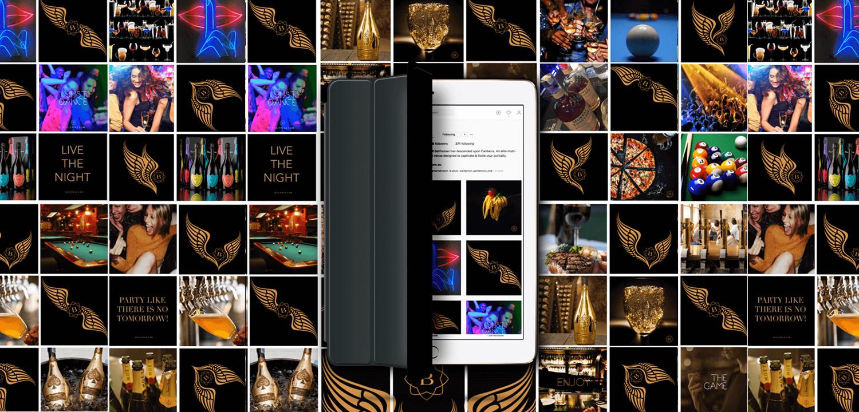 Balthazaar - Social MediaGrid on iPad