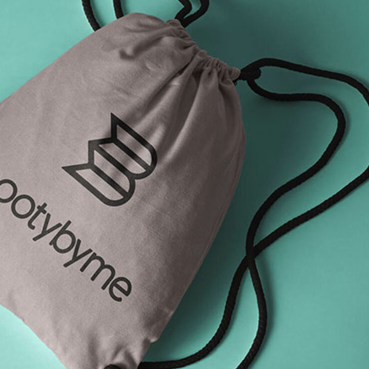 Booty By Me Logo Packaging Tote Bag