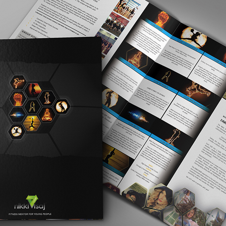 Boss Agency - Nikki Visaj - Brochure Design