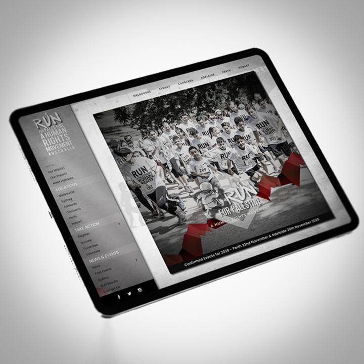 Boss Agency - R4P- iPad Web Mockup