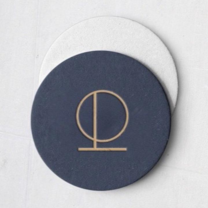 Le Plonc, Melbourne - Logo on Coaster