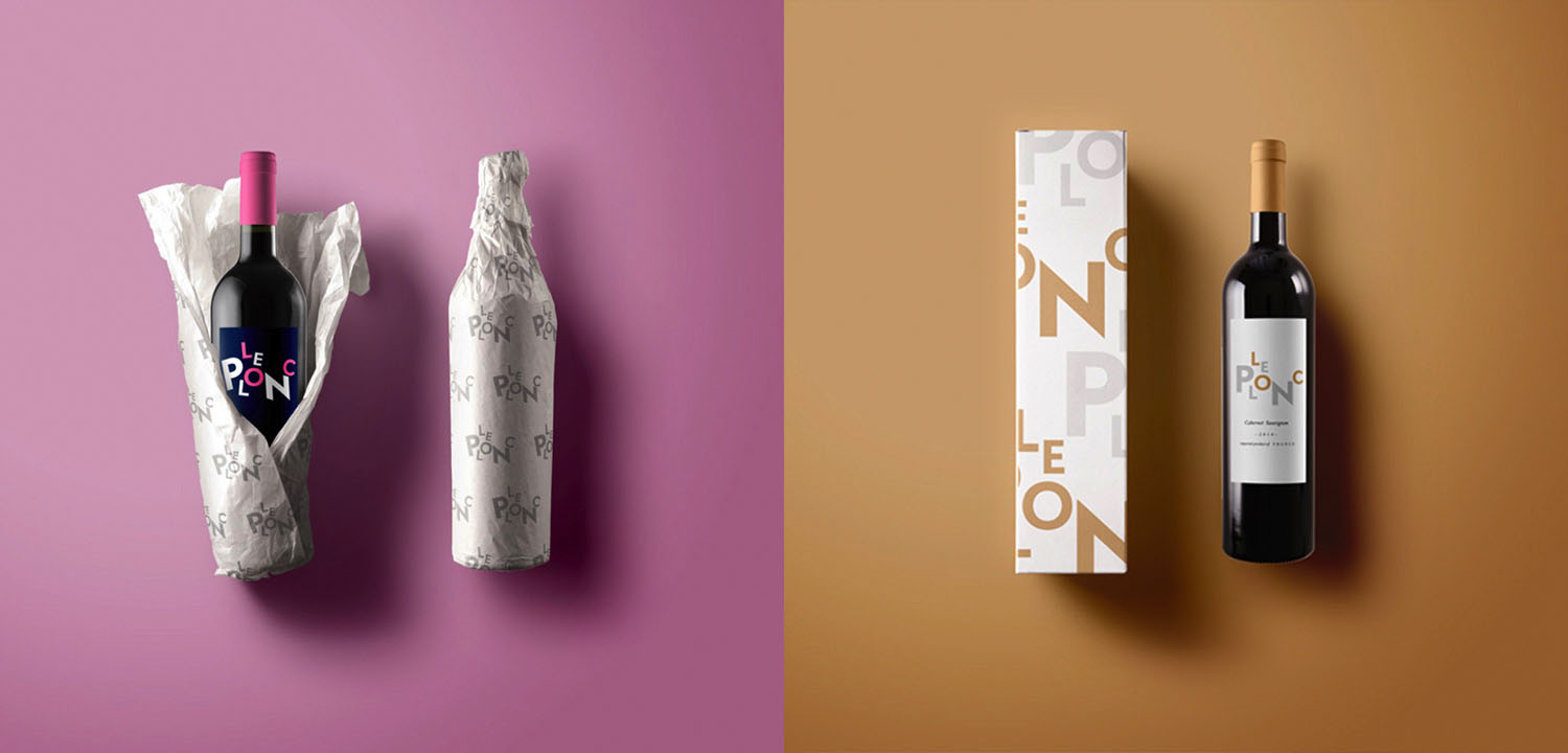 Le Plonc Packaging and Label Design