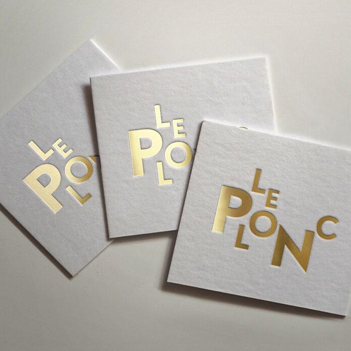 Le Plonc Coaster Print Design