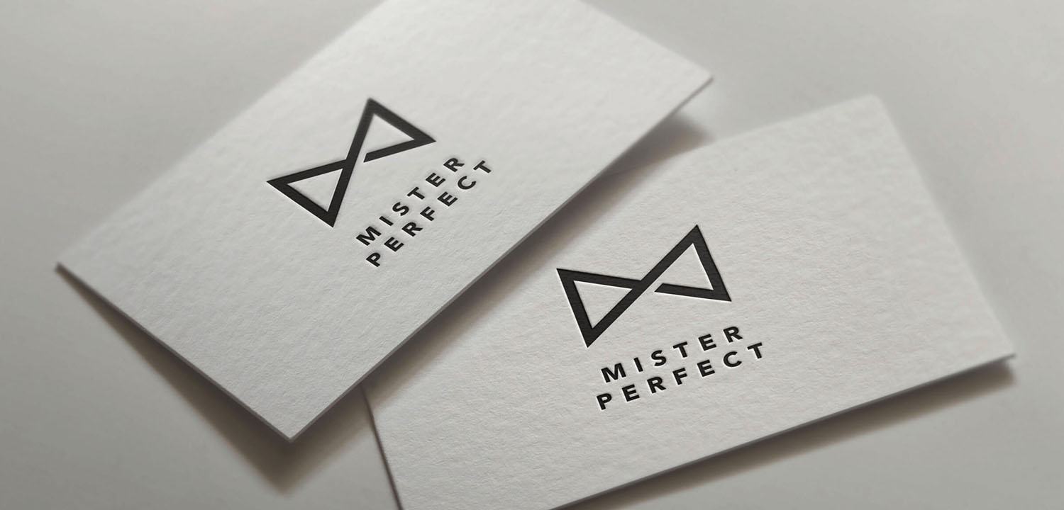 BA Mister Perfect Brand Business Card