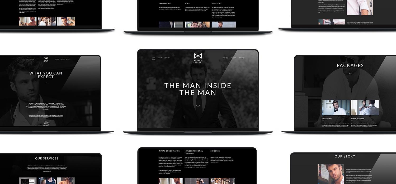 BA Mister Perfect Brand Website Design Development