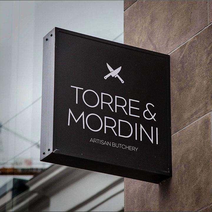 Torre & Mordini Signage Design