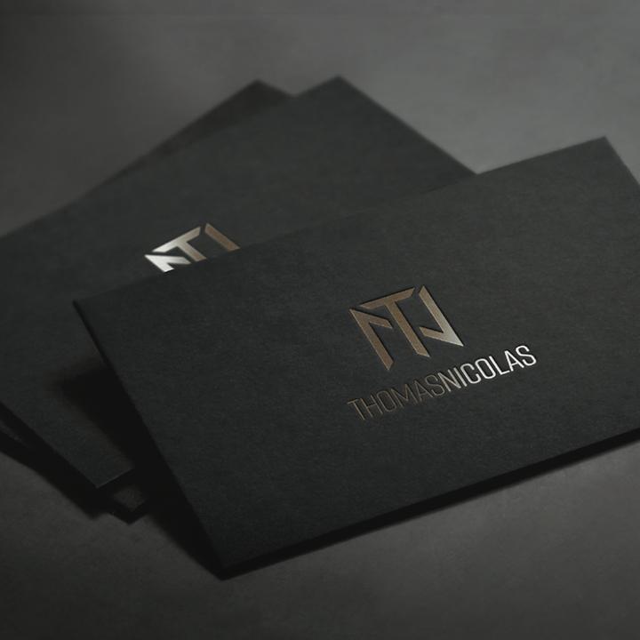 Thomas Nicolas Premium Business Cards