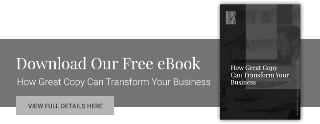 How Great Copy Can Transform Your Business
