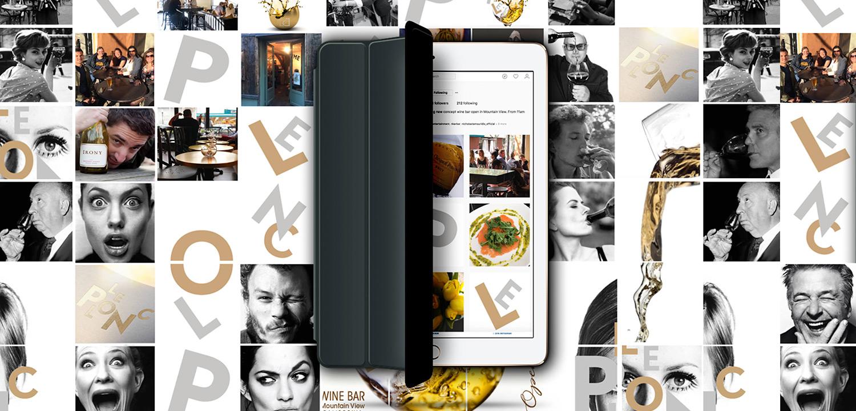 Social Media Marketing Instagram Layout