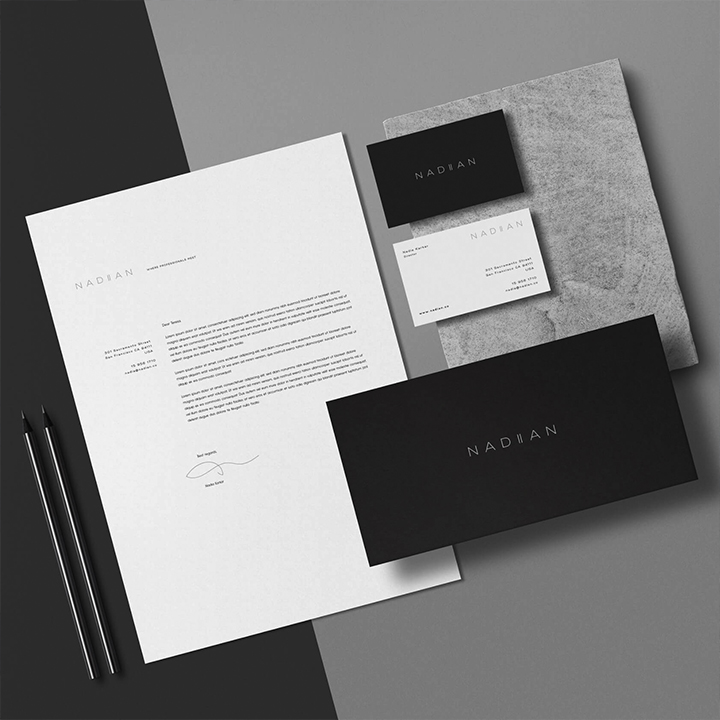 Nadian - Brand Identity Package