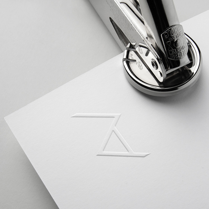 Monogram Stationery Concept for Rise Architecture